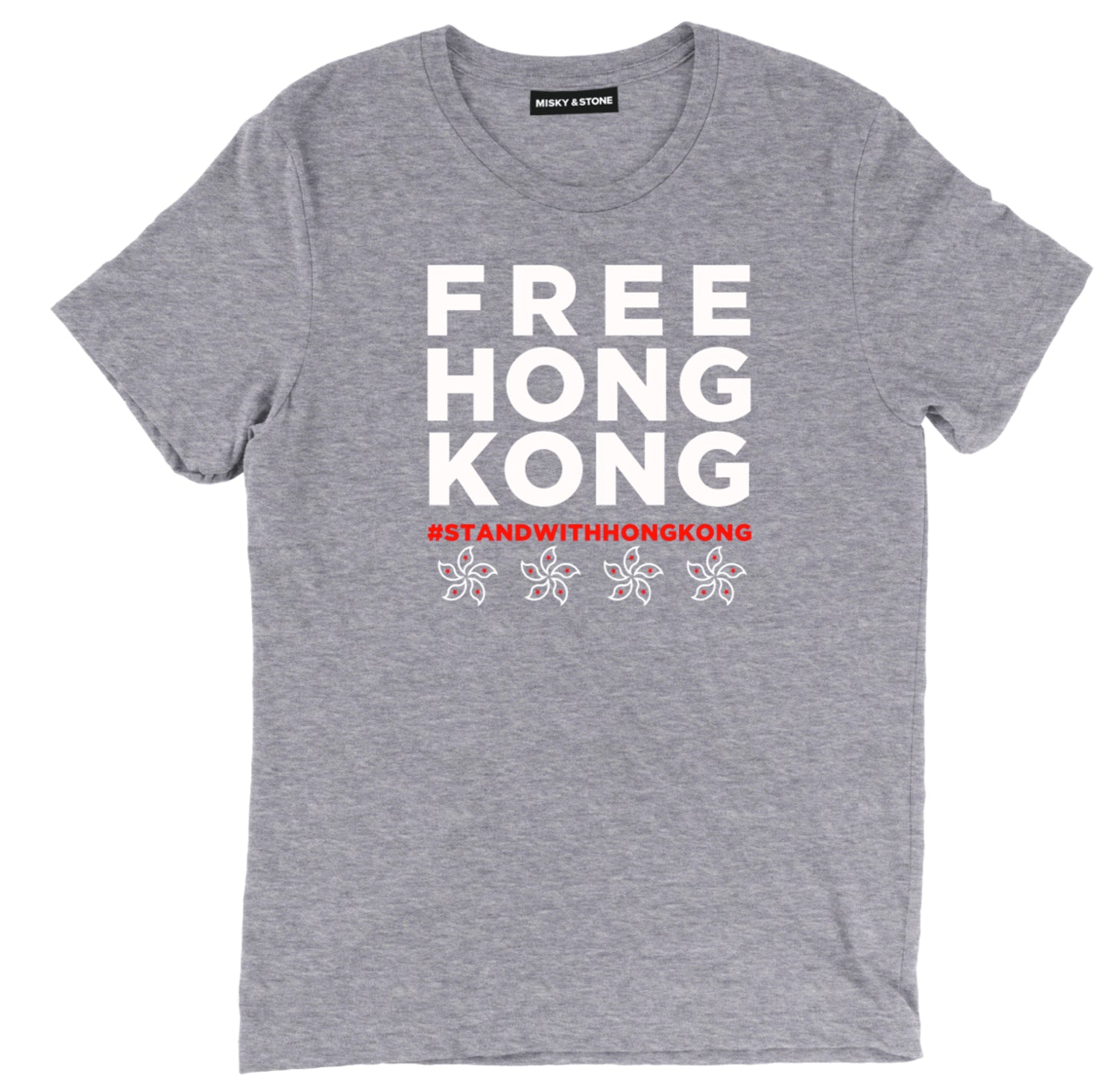 Free Hong Kong Support Hong Kong Tee