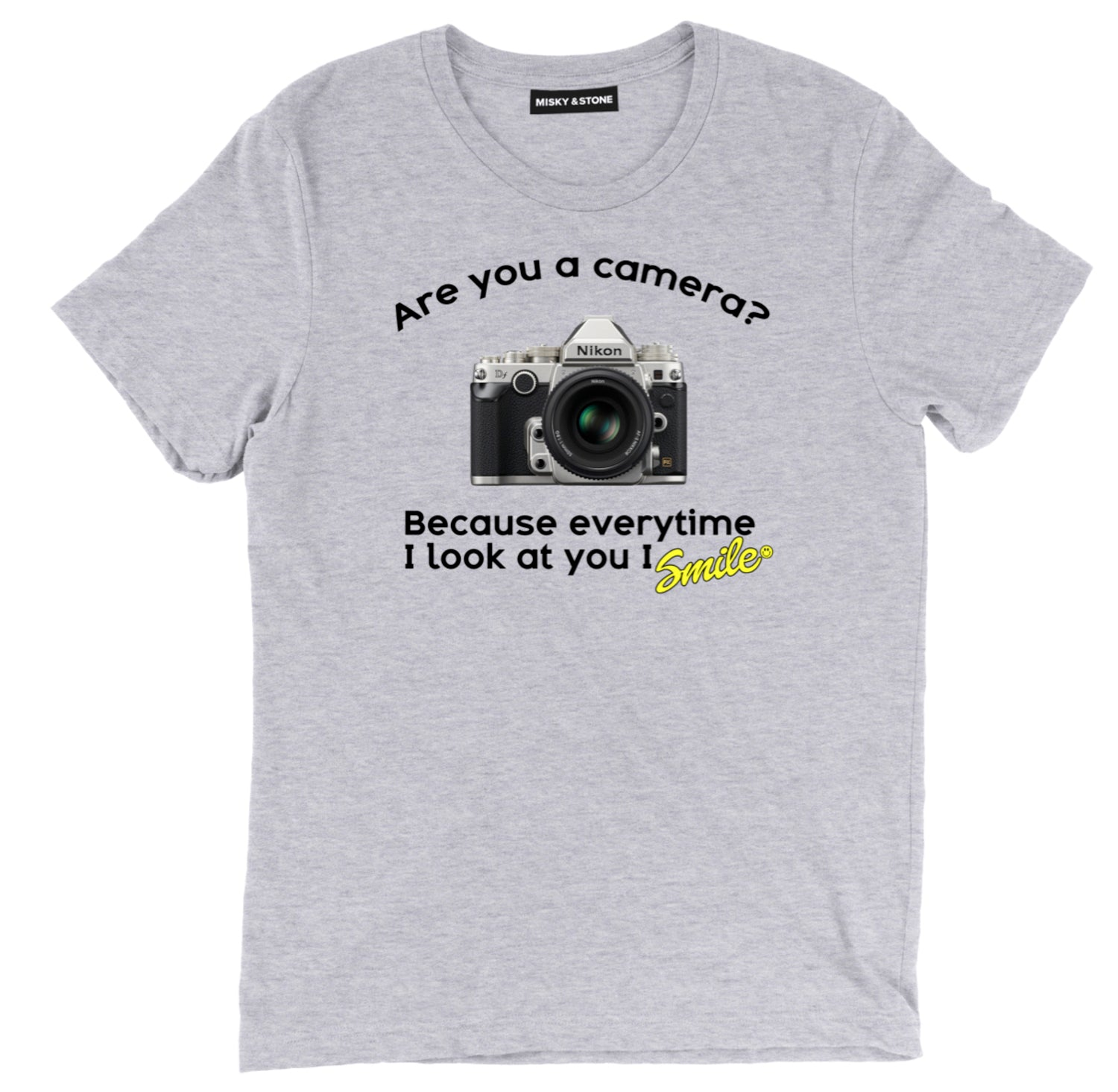 Every Time I Look At You I Smile Tee Shirt