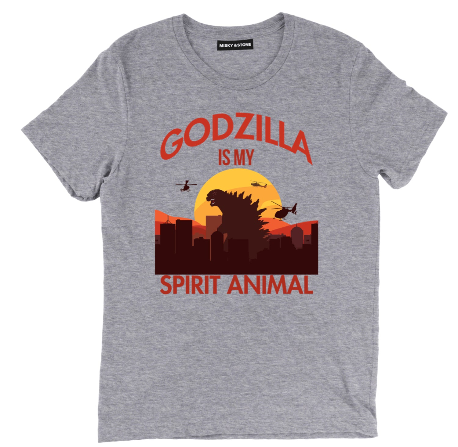 Godzilla Is My Spirit Animal Fashion Tee