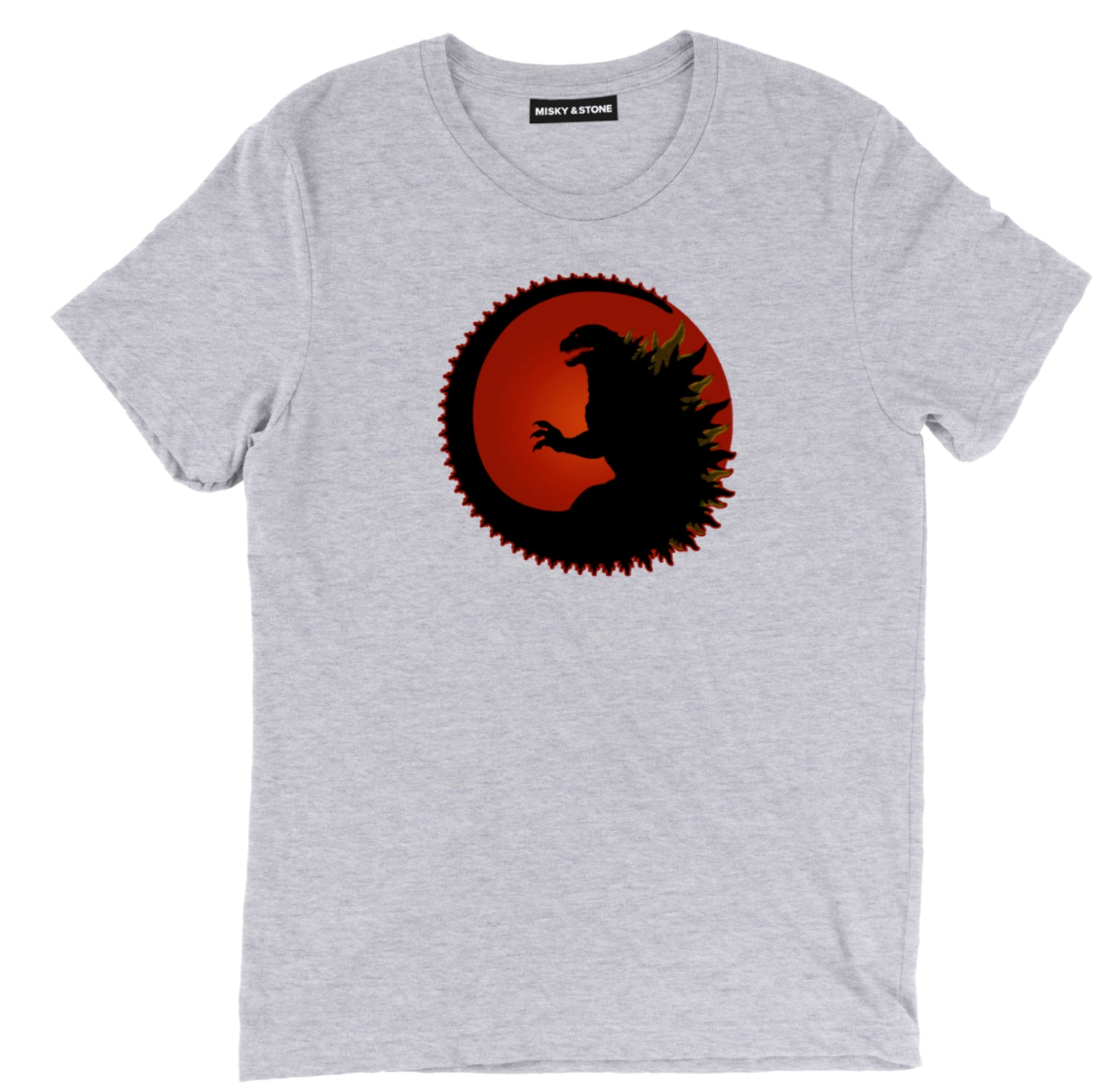 Godzilla Circle Symbol Tee Copy