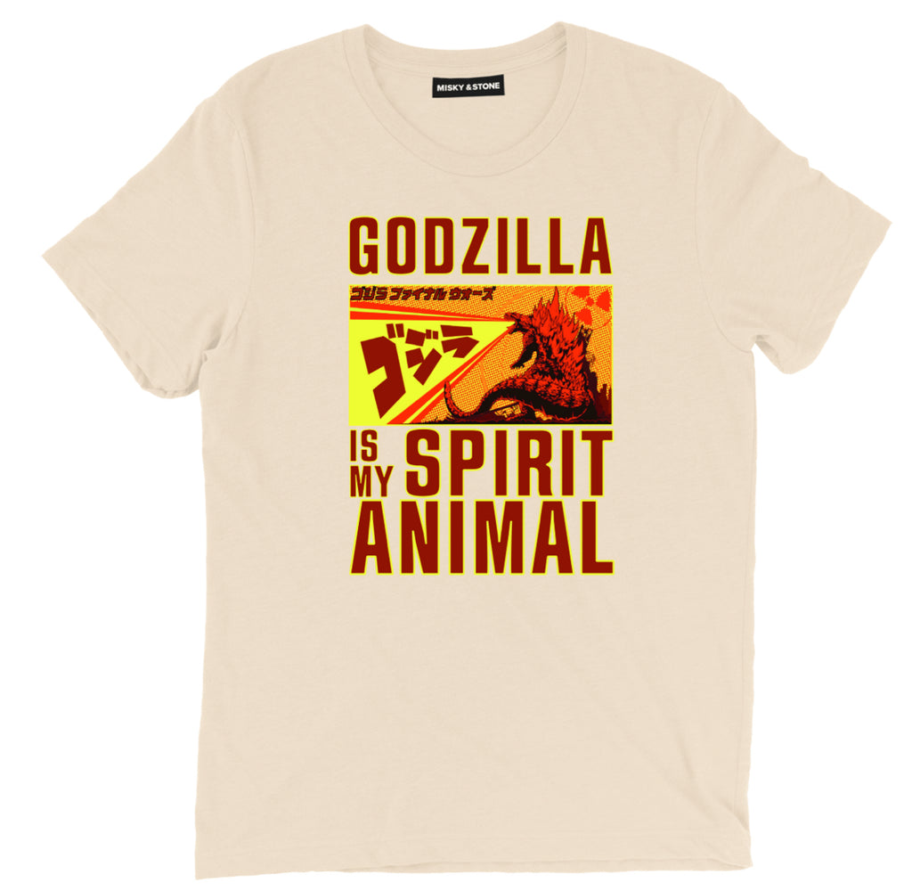 godzilla is my spirit animal t shirt, godzilla t shirt, godzilla shirt, godzilla tee shirt, godzilla clothing, godzilla apparel, godzilla merch, godzilla merchandise, movie tee shirts