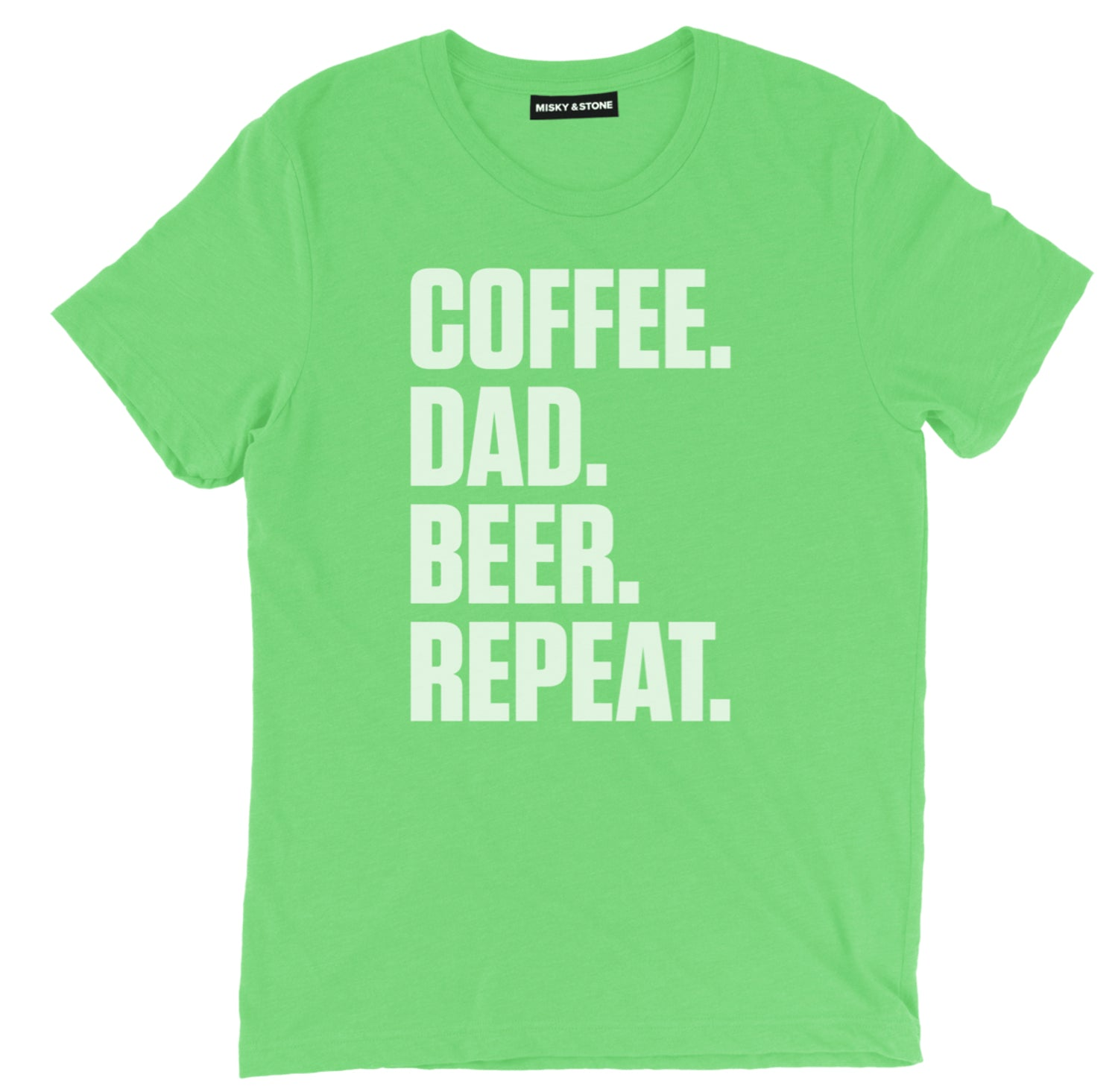 Coffee Dad Beer Repeat Tee
