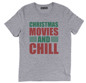 christmas movies and chill t shirt, christmas shirts, christmas t shirts, christmas tees, christmas tee shirts, funny christmas shirts, xmas t shirts, funny christmas t shirts, cute christmas shirts, ugly christmas t shirts,