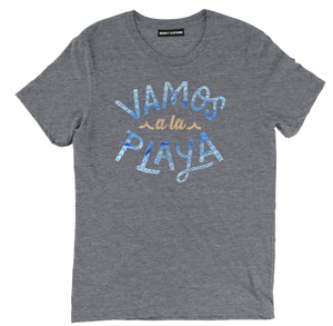 vamos a la playa shirt, beach t shirt, beach shirts, beach tee shirts, funny beach shirts, cool beach t shirts, cool beach shirts, beach tees, best beach shirts,