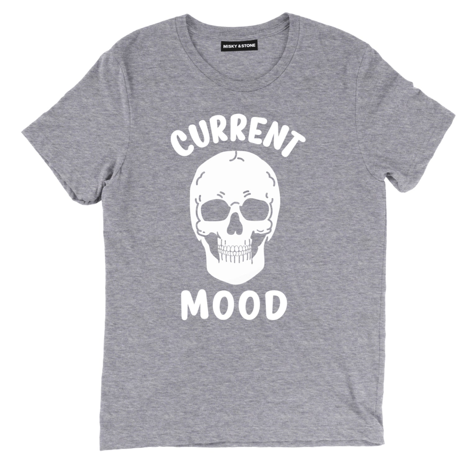 Current Mood Skull Tee