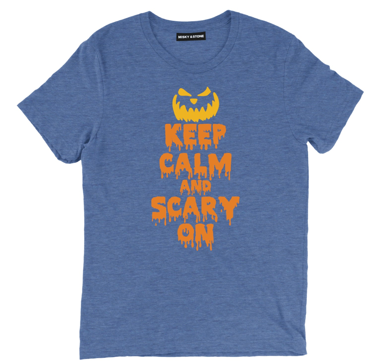 Keep Calm And Scary On T Shirt