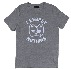 i regret nothing shirt, funny cat shirt, pirate shirt, cat shirts, funny cat shirts, funny cat t shirt, cat tee shirts, cute cat shirts, crazy cat shirts, cool cat shirts, cat tee, cat lovers t shirts, awesome cat shirts,
