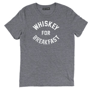 whiskey for breakfast tee shirt, whiskey tee shirt, whiskey apparel, whiskey clothing, funny whiskey merch