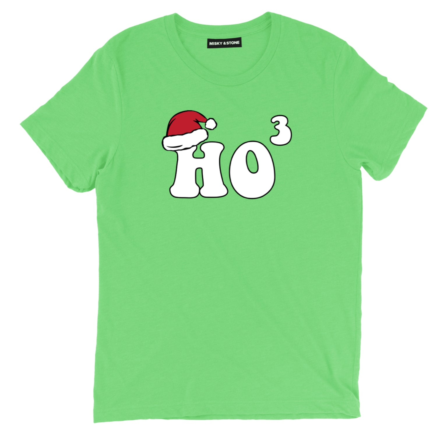 Christmas And Math Humor Exponent Tee Shirt