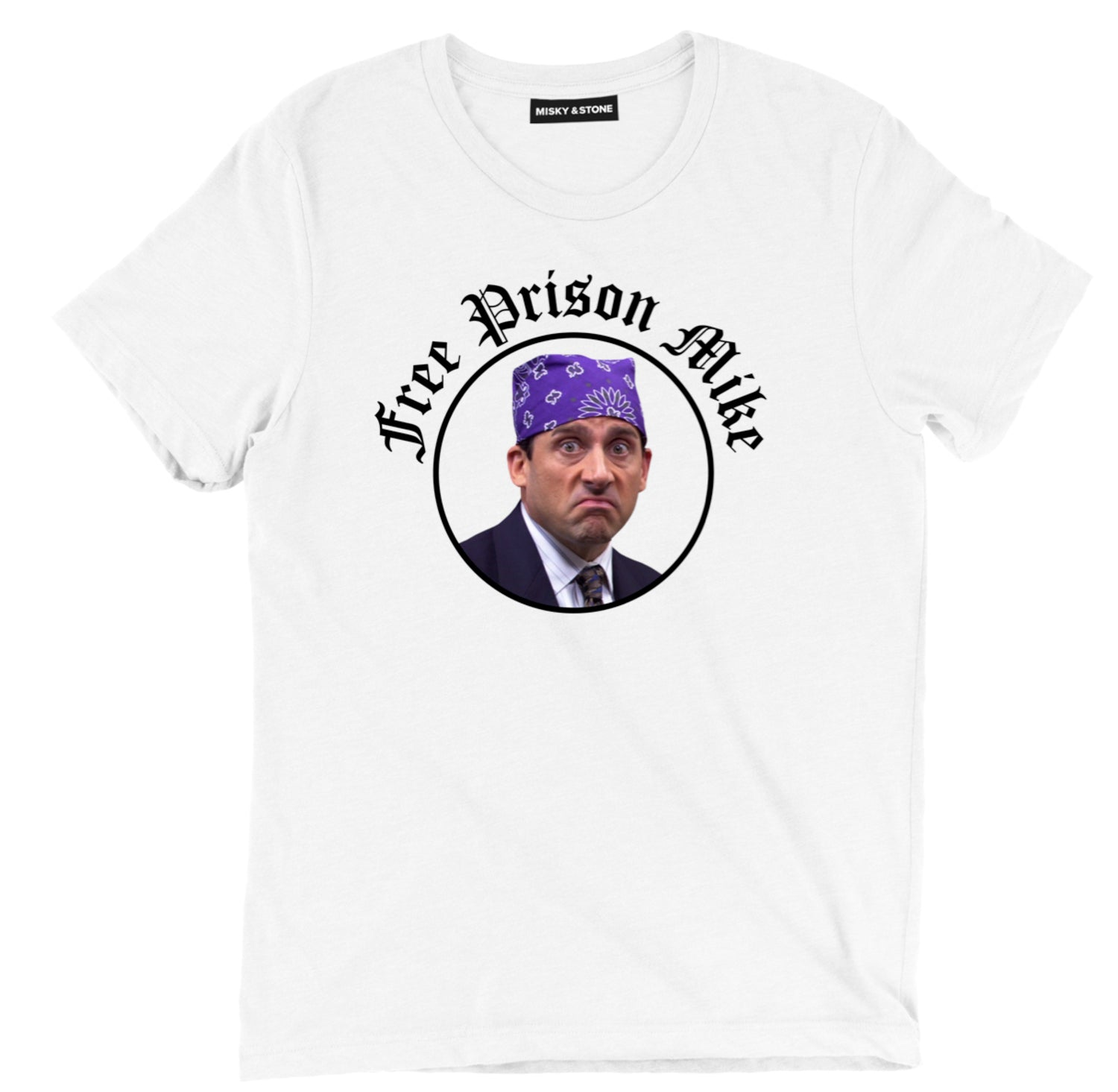 Free Prison Mike Mens Cotton Tee Shirt