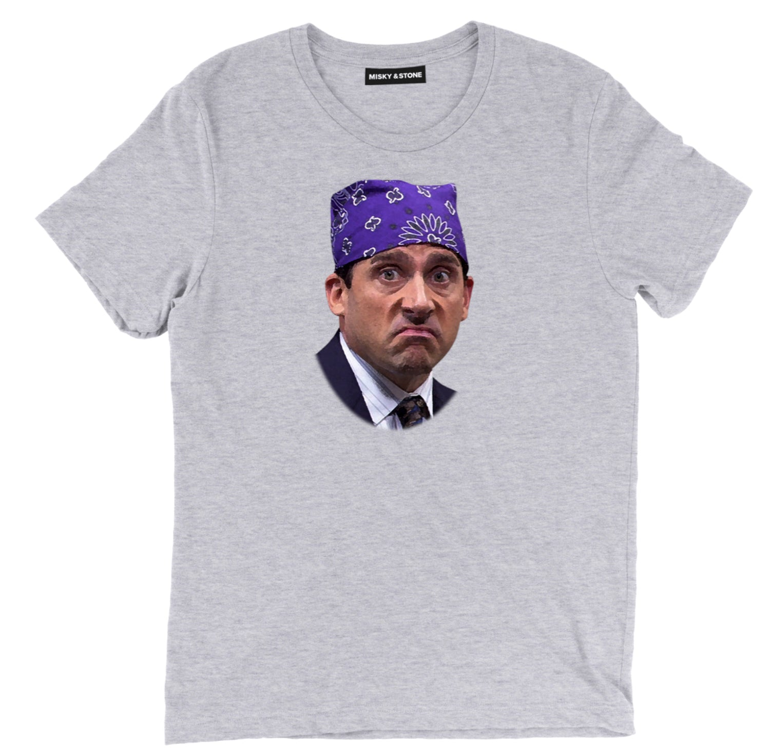Prison Mike Face Mens Soft Cotton Tee