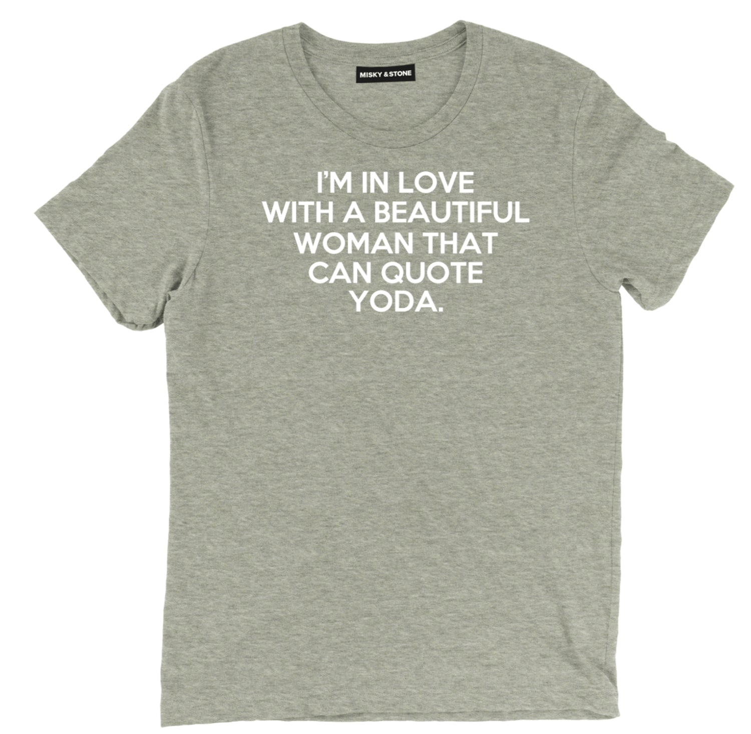 im in love with a woman that can quote yoda tee, funny the big bang t shirt, funny yoda tee, funny the big bang t shirt, tv sitcom apparel, tv sitcom tee shirt, tv sitcom clothing, tv sitcom merch