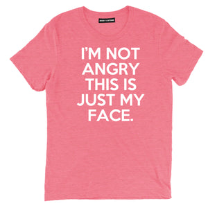 im not angry sarcastic t shirts, im not angry this is just my face sarcastic shirts, im not angry sarcastic tee shirts, sarcastic tees, sarcastic t shirt sayings, sarcastic t shirts quotes, funny sarcastic t shirts,