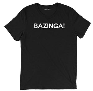 bazinga t shirt, funny sheldon the big bang theory tee, funny the big bang theory tee