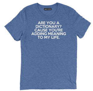 are you a dictionary sarcastic t shirts, funny pick up line sarcastic shirts, are you a dictiosarcastic tee shirts, sarcastic tees, sarcastic t shirt sayings, sarcastic t shirts quotes, funny sarcastic t shirts,