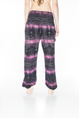 Purple Spiritual Harem Pants