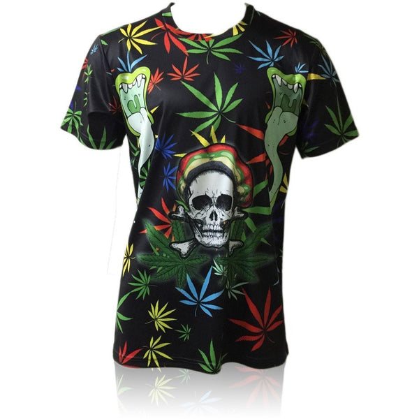 Deadly Weed All Over Print Shirt