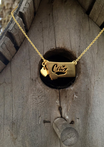 MSU Cats Montana Necklace