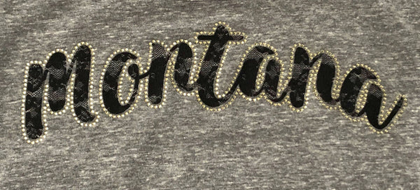 Montana Ladies Tri-Blend Performance Baseball Tee