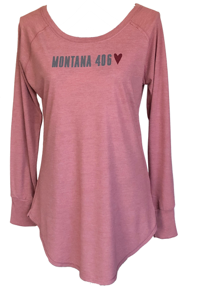 Ladies Triblend Long Sleeve Tunic