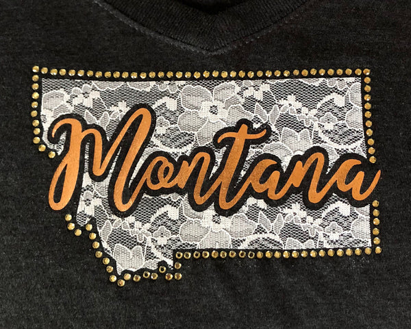 A Moment in Montana Ladies T-shirt