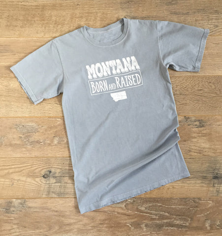 Montana Born and Raised T-shirt