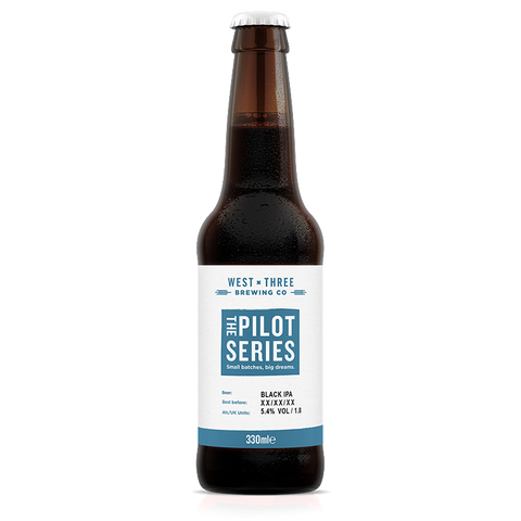 Pilot Series - Black IPA 330ml bottle