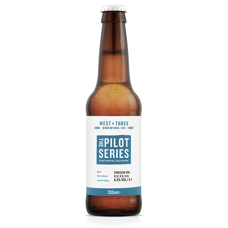 Pilot Series - Oregon IPA 330ml bottle