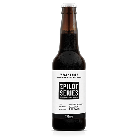 Pilot Series - Chocolate Milk Stout 330ml bottle