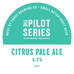 Pilot Series - Citrus Pale Ale Keg