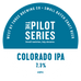 Pilot Series - Colorado Pale IPA Keg