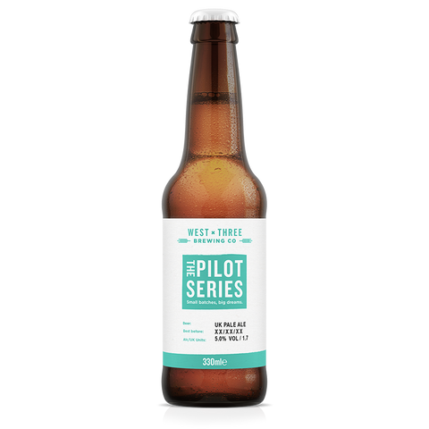 Pilot Series - UK Pale Ale 330ml bottle