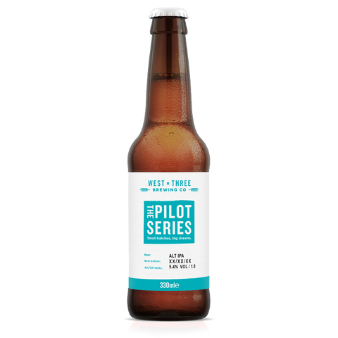 Pilot Series - ALT IPA 330ml bottle
