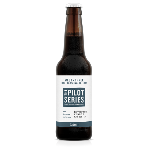Pilot Series - Elixr Vanilla Coffee Porter 330ml bottle