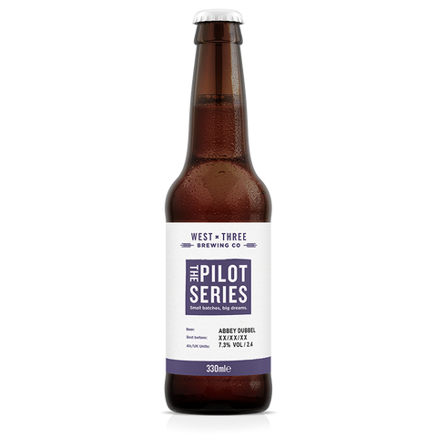 Pilot Series - Abbey Dubbel 330ml bottle