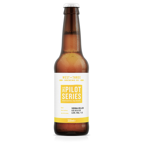 Pilot Series - Vienna Helles 330ml bottle