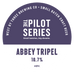 Pilot Series - Abbey Tripel Keg