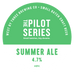Pilot Series - Summer Ale Keg