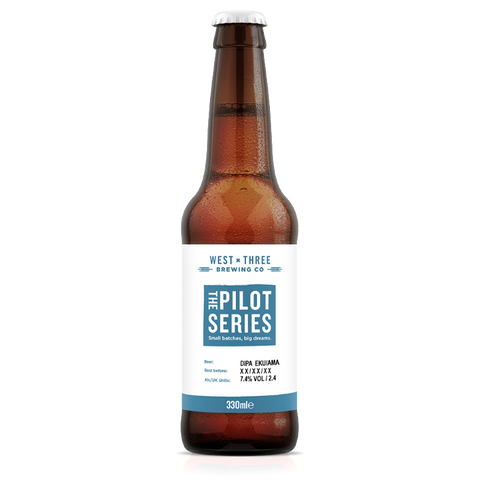 Pilot Series - DIPA Ekuanot & Amarillo 330ml bottle