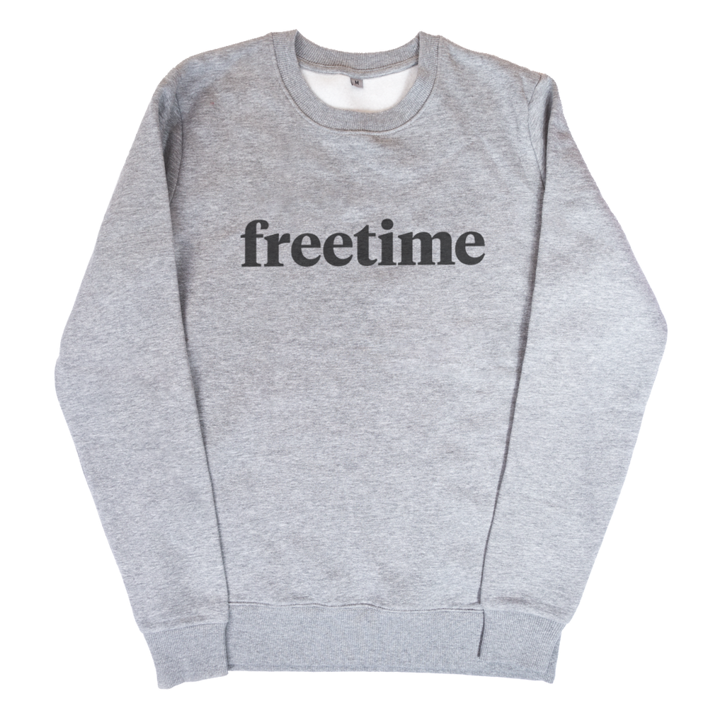 Freetime Wordmark Sweatshirt