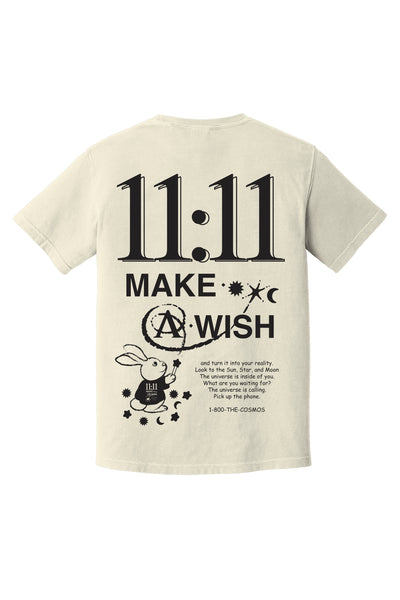 11:11 Anniversary Tee in Off-White