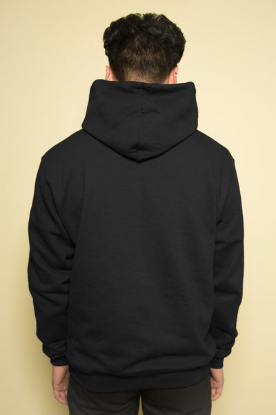 The Champion Alphabet Hoodie in Black