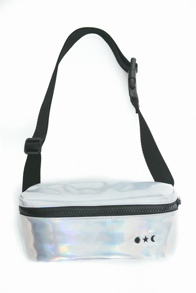 Water Resistant Fanny Pack in Holographic