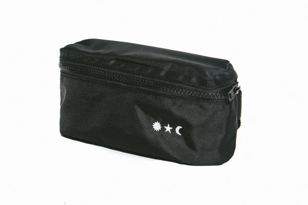 Water Repellant Fanny Pack in Black