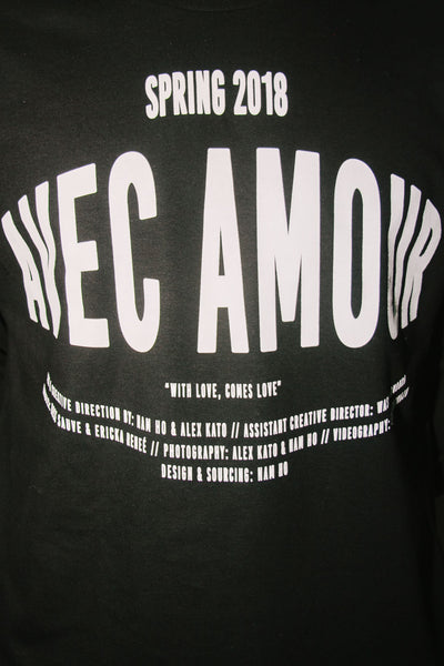 Avec Amour Long Sleeve in Black