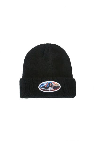 AGNB Cuffed Beanie in Champion Black