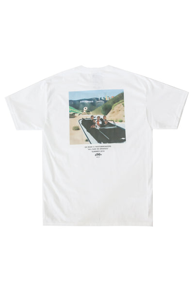 AGNB Los Angeles Tee in Victory White