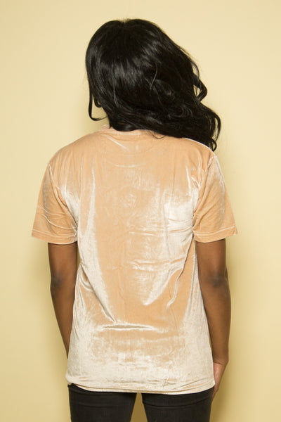 Timeless Velour Knit in Tan