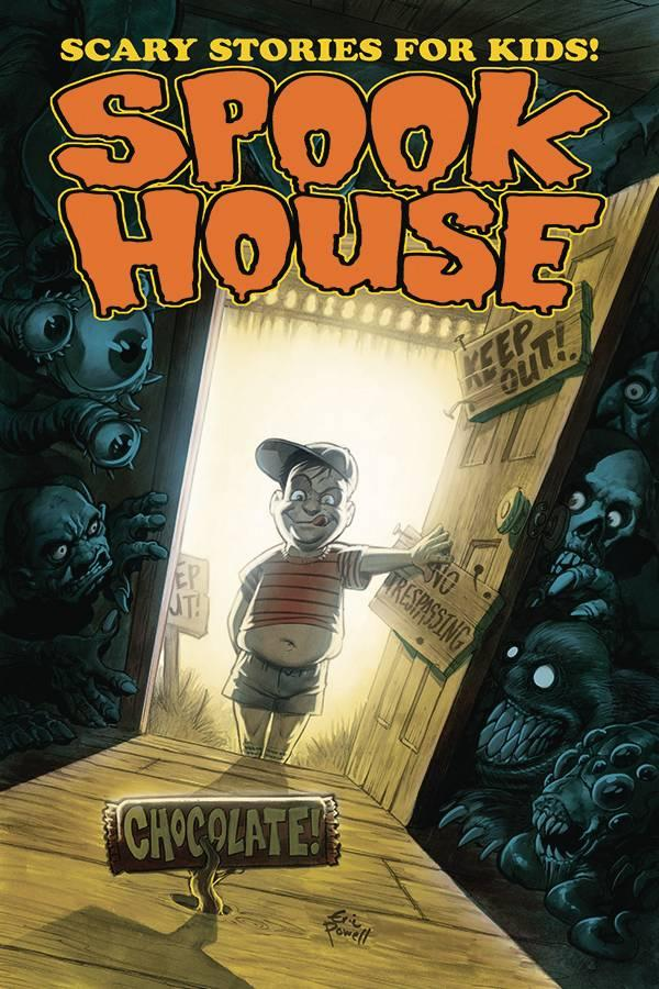 Spook House : Trade Paperback (Eric Powell Horror Anthology)