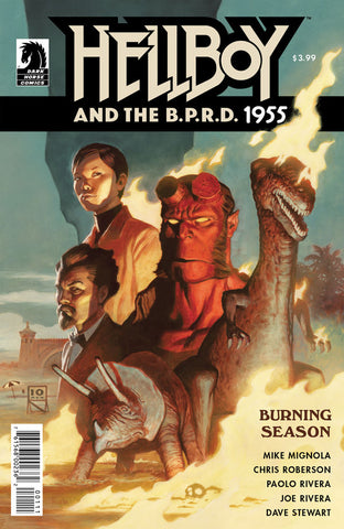 Hellboy and the B.P.R.D. 1955 Burning Season
